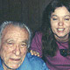 Photo of Charles Bukowski with Mary Ann Swissler and Mat Gleason, San Pedro.